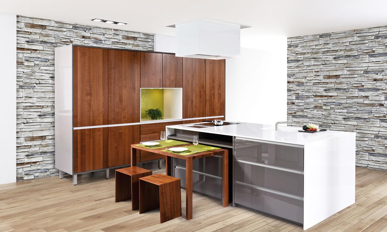 Küche Mit Kochinsel Grau – sehremini